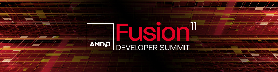 AMD Fusion Developer Summit