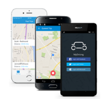 [How Is] MyDriving - Azure, Mobile IoT App from Build