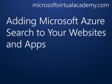 Adding Microsoft Azure Search to Your Websites and Apps