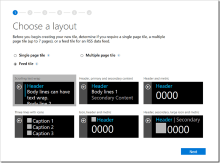 Your First Band 2 App, via a new Web Tile