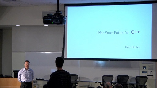 Herb Sutter: (Not Your Father's) C++