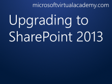 Upgrading to SharePoint 2013