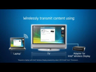 Intel's Wireless Display, Designed to Save Your Career