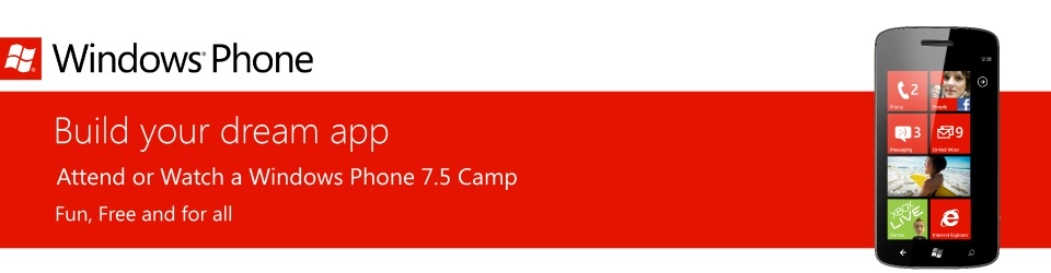 Windows Phone Camps Online