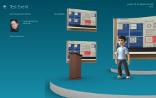Virtual Events Sample with Kinect for Windows NUI and Avatar