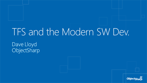 From Requirements to Deployment: The Modern SW Developer using TFS