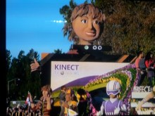Kinect on Parade... The Kinect at the 2012 Rose Parade