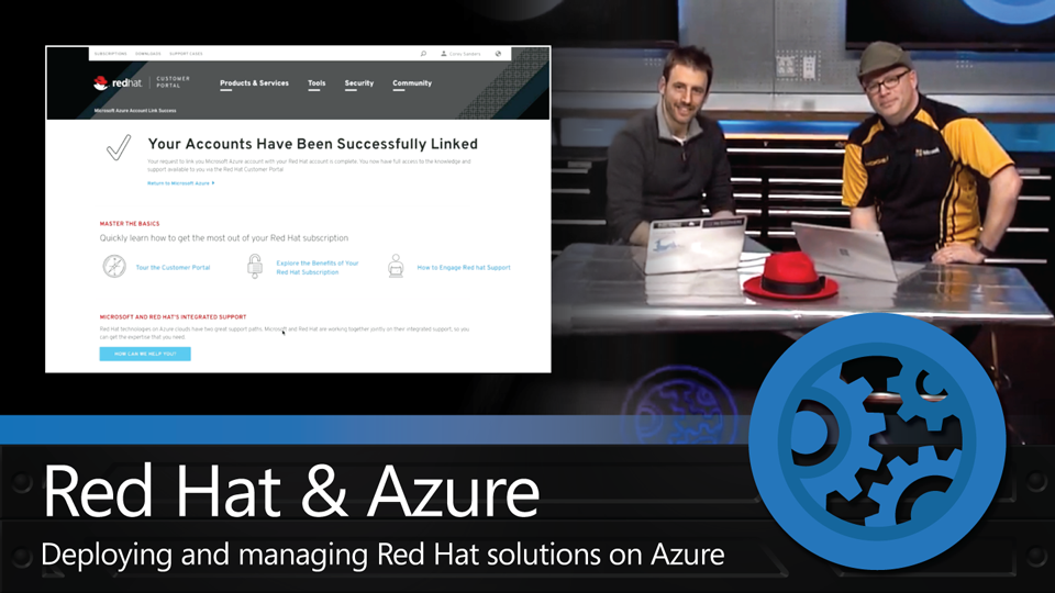 Deploying and managing Red Hat solutions on Azure