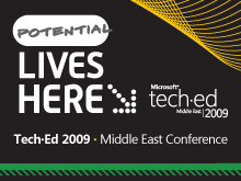 Tech·Ed Middle East 2009