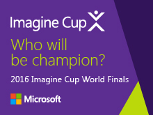 Imagine Cup World Finals 2016