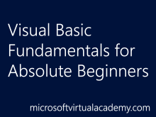 Visual Basic Fundamentals for Absolute Beginners