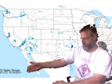 Ever wanted to be a TV Weather person? Now you can (kind of) with Kinect Weather Map