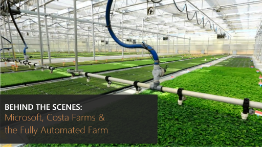 Behind the Scenes: Microsoft, Costa Farms and the Fully Automated Farm