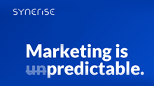 Marketing is [un]predictable. Introducing Synerise - State Of The Art Marketing Intelligence Cloud