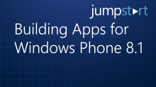 Building Apps for Windows Phone8.1