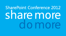 SharePoint Conference 2012