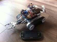 Keeping an eye it with an object tracking .Net Gadgeteer robot