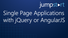 Single Page Applications with jQuery or AngularJS