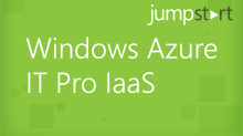 Windows Azure IT Pro IaaS