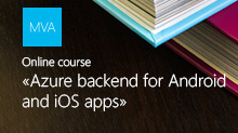 Azure backend for Android and iOS apps