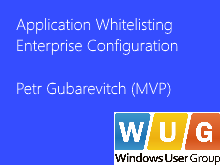 Application Whitelisting Enterprise Configuration