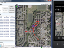 Programming a Windows Phone 7 GPS enabled app without leaving your PC