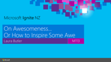 On Awesomeness, or How To Inspire Some Awe