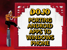 Dojo: Porting Android Apps to Windows Phone
