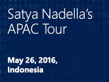 Satya Nadella in Indonesia