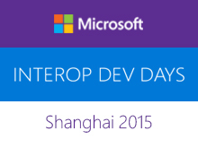 Shanghai Interop Dev Days 2015