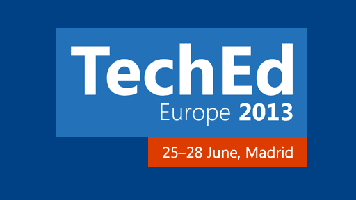 TechEd Europe 2013 Keynote Streaming Live Now
