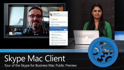 A quick tour of the Skype for Business Mac Public Preview