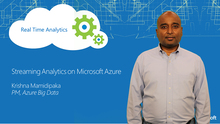 Streaming Analytics on Microsoft Azure