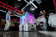 Microsoft Cube makes for Kinect Fun
