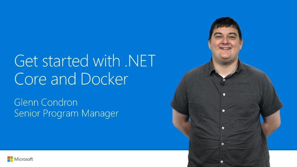 Get Started with .NET and Docker