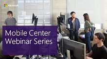 Visual Studio Mobile Center Webinar Series