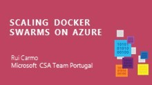 Scaling Docker Swarms on Azure | Rui Carmo - Microsoft