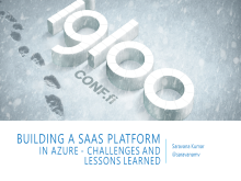 Building a SaaS platform in Azure - challenges and lessons learned