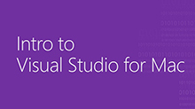 Intro to Visual Studio for Mac