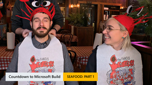 Countdown for Microsoft Build: Seafood (Casual Dining)