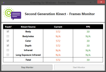 """Frames Monitor"" Utility from Tom Kerkhove"