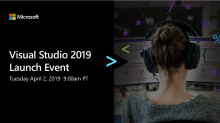 Visual Studio 2019 Launch Event