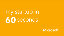 my startup in 60 seconds