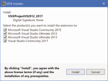 Multiple Visual Studio Versions, One Extension