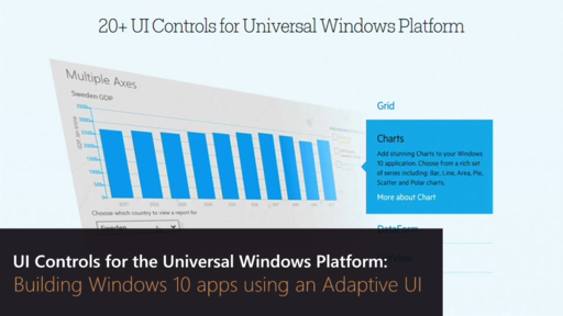 UI Controls for the Universal Windows Platform: Building Windows 10 apps using an Adaptive UI