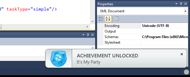 Azure Achievement Unlock