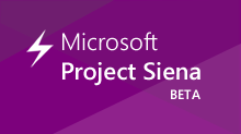 Microsoft Project Siena (Beta)