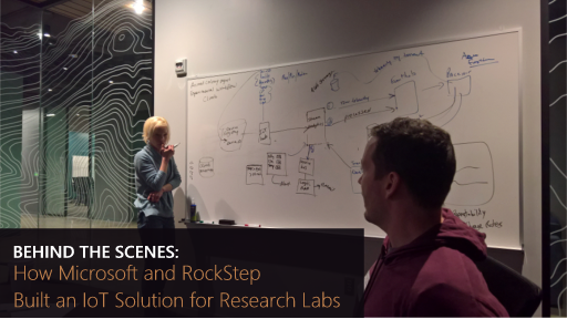 Behind the Scenes: How Microsoft and RockStep Built an IoT solution for Research Labs