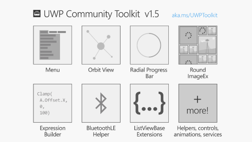 The UWP Community Toolkit is 1 1/2! (v1.5)