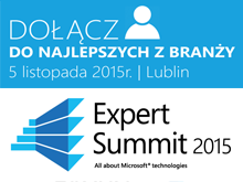 Expert Summit - All about Microsoft Technologies 2015